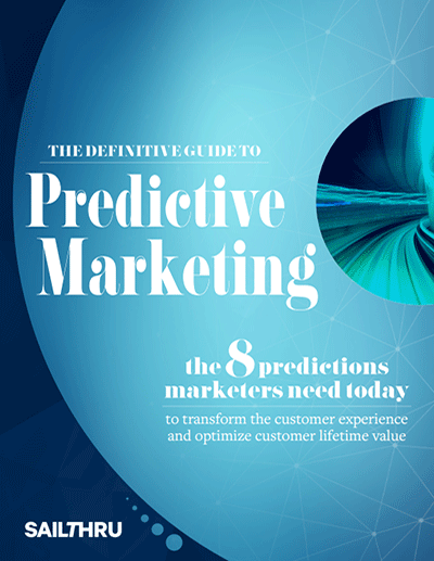 The Definitive Guide To Predictive Marketing